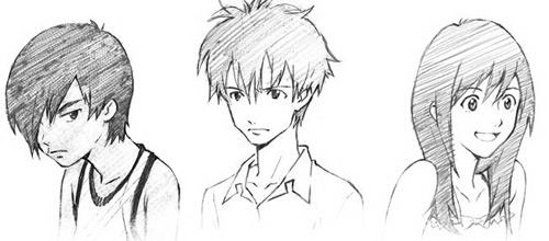 les designs de Yoshiyuki Sadamoto